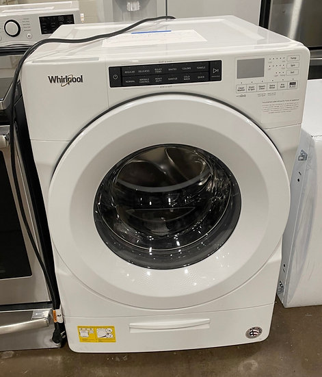 Whirlpool 4.5 CF Front Load Washer White- 33729