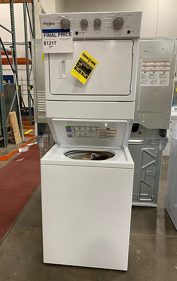 Whirlpool 3.5 CF Stacked Laundry Center- 58914