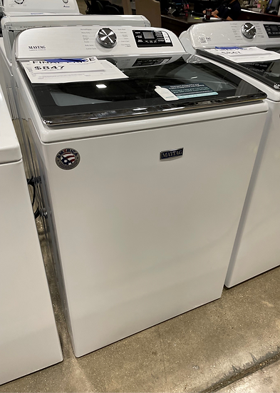 Maytag 5.3 CF Top Load Washer White- 28115