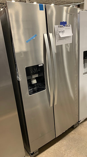 Whirlpool 25 CF Side By Side Refrigerator SS- 09816