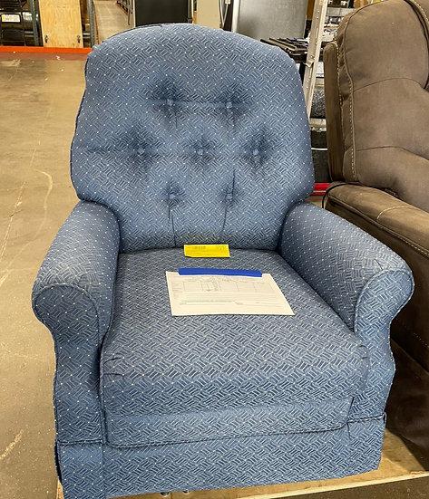 England Ronda Navy Reclining Chair- 22192