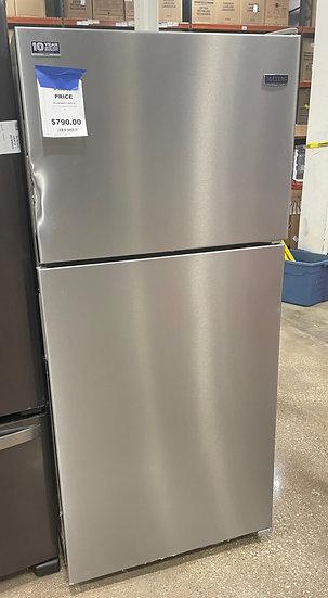 Maytag 18 CF Top Mount Refrigerator SS- 00002 (16777 30)