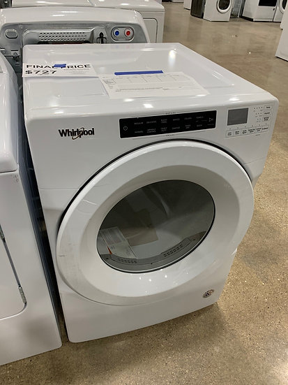 Whirlpool 7.4 CF Electric Dryer White- 2041