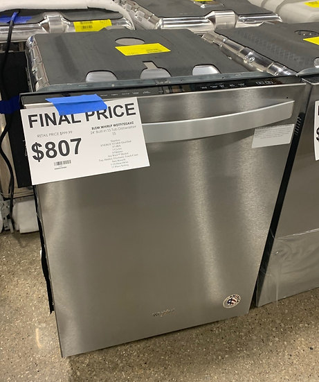 Whirlpool Stainless Steel Tub Dishwasher SS- 1244