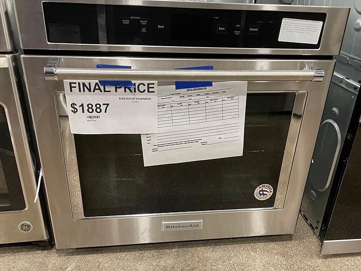 Kitchenaid 5 CF Electric Single Wall Oven SS- 17048