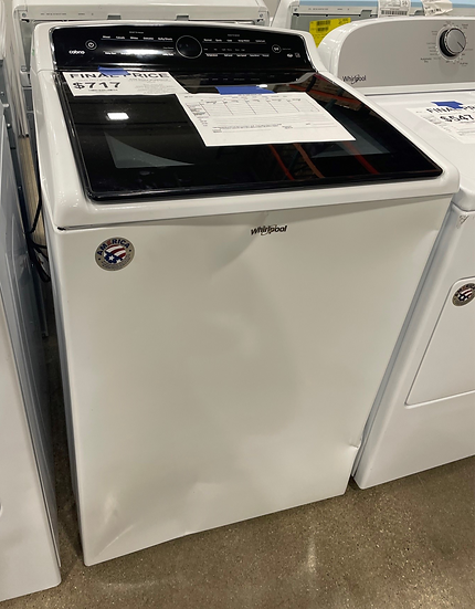 Whirlpool 5.3 CF Top Load Washer White- 16992