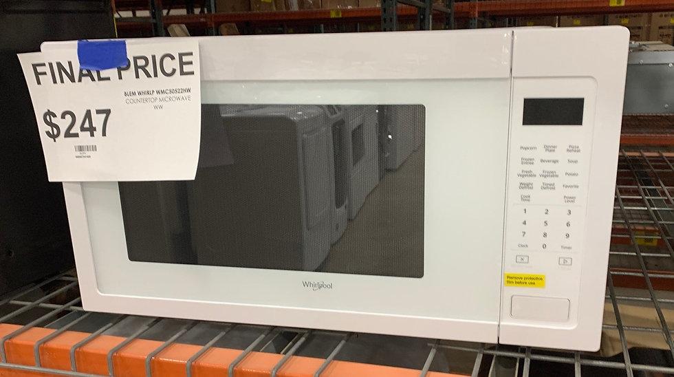 Whirlpool 2.2 CF Countertop Microwave White- 86394