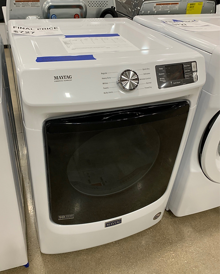 Maytag 7.3 CF Electric Dryer White- 86363