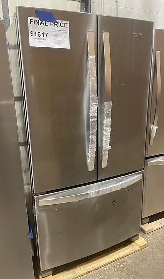 Whirlpool 25 CF French Door Refrigerator SS- 24418