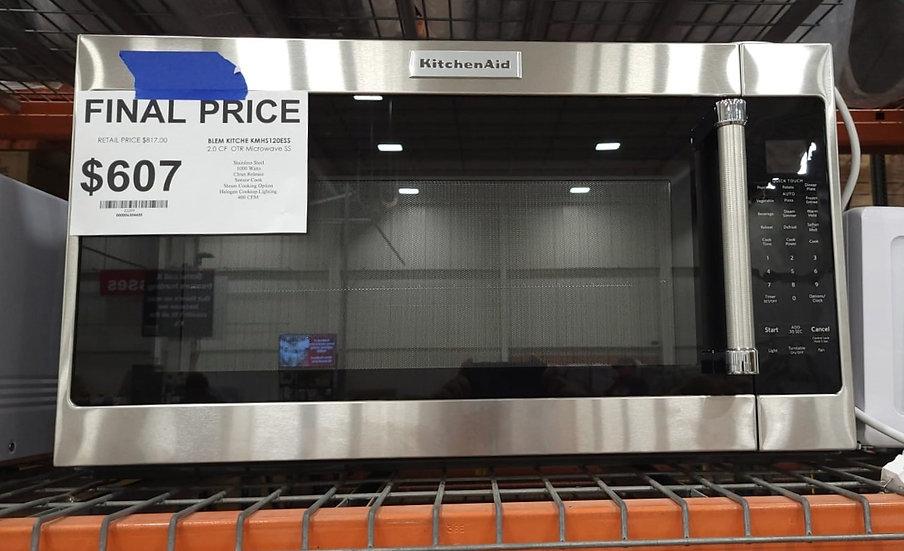 Kitchenaid 2 CF Microwave Hood Combo SS- 23399