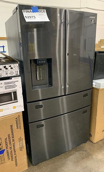 Samsung-D 28 CF French Door 4 Door Refrigerator Black Stainless- 00619