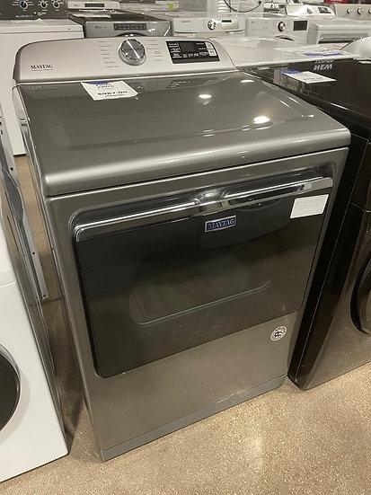 Maytag 7.4 CF Electric Dryer Chrome Shadow- 08727