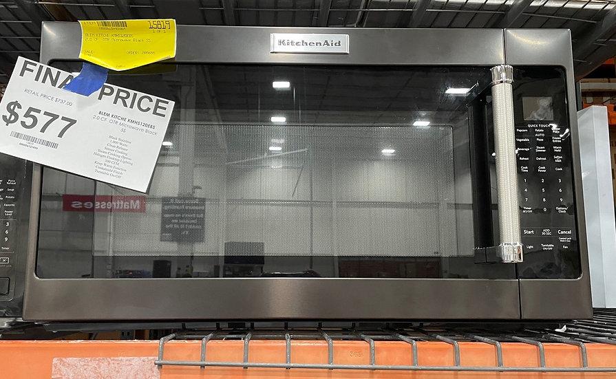 Kitchenaid 2 CF Microwave Hood Combo BS- 15819