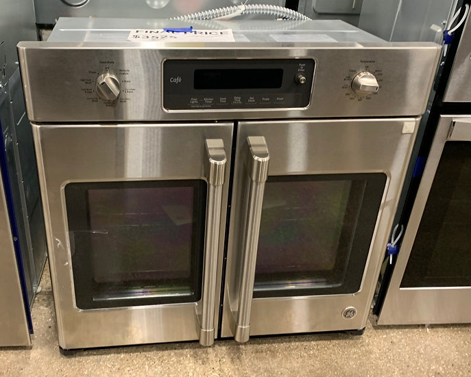 GE French Door Convection Wall Oven SS- 88265