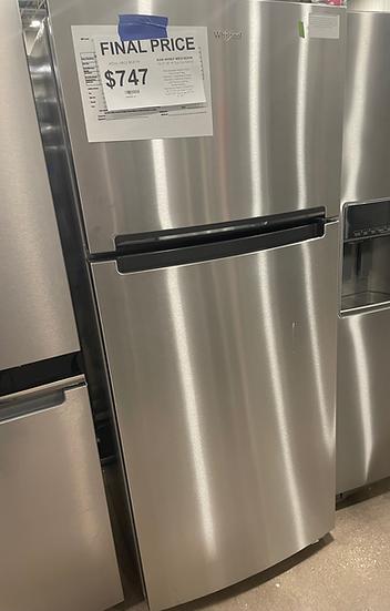 Whirlpool 18 CF Top Freezer Refrigerator SS- 17056