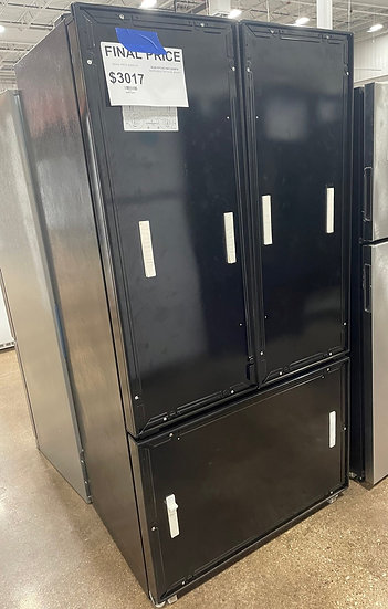 Kitchenaid 22 CF Panel Ready French Door Refrigerator Black- 42446