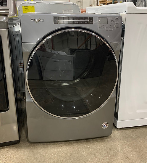 Whirlpool 7.4 CF Front Load Gas Dryer Chrome Shadow- 53339