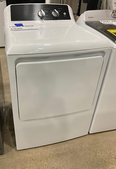GE 6.2 CF Electric Dryer White- 4977