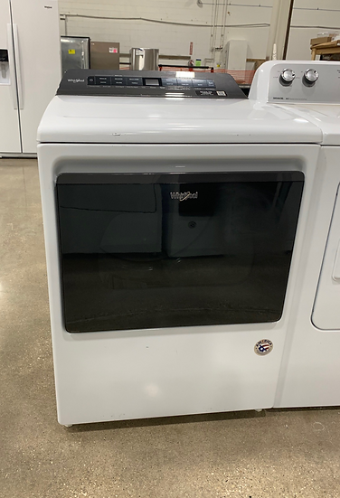Whirlpool 7.4 CF Top Load Electric Dryer White- 61093