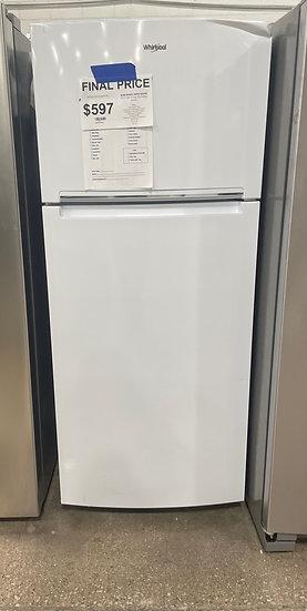 Whirlpool 18 CF Top Freezer Refrigerator White- 75990