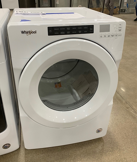 Whirlpool 7.4 CF Electric Dryer White- 82009
