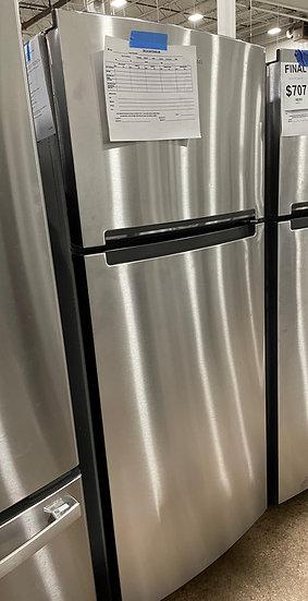 Whirlpool 18 CF Top Freezer Refrigerator SS- 24445