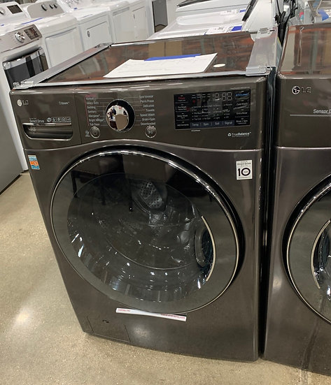 LG 4.5 CF Front Load Washer Black SS- 69892
