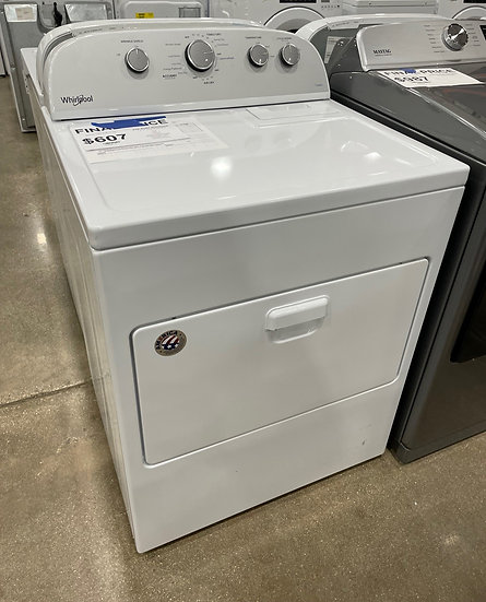 Whirlpool 7 CF Gas Dryer White- 29223