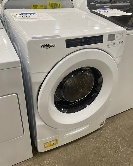 Whirlpool 4.5 CF Closet Depth Front Load Washer White- 21624