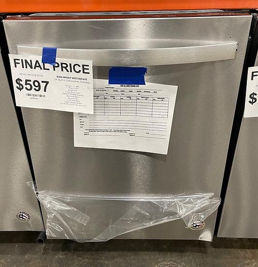 Whirlpool Fan Dry Dishwasher SS- 15861