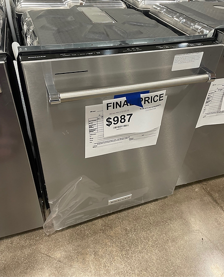 Kitchenaid Printshield Dishwasher SS- 20319