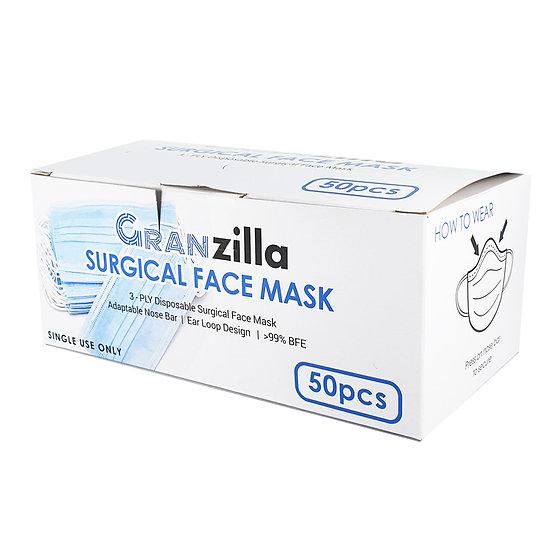 Surgical Face Mask (50pcs)