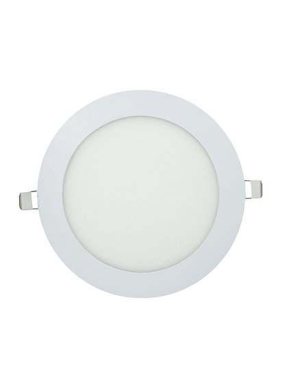 LED Recess Mount Round Panel Light (Warm White)