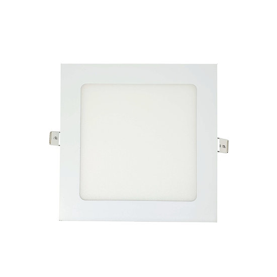 LED Recess Mount Square Panel Light (Warm White)