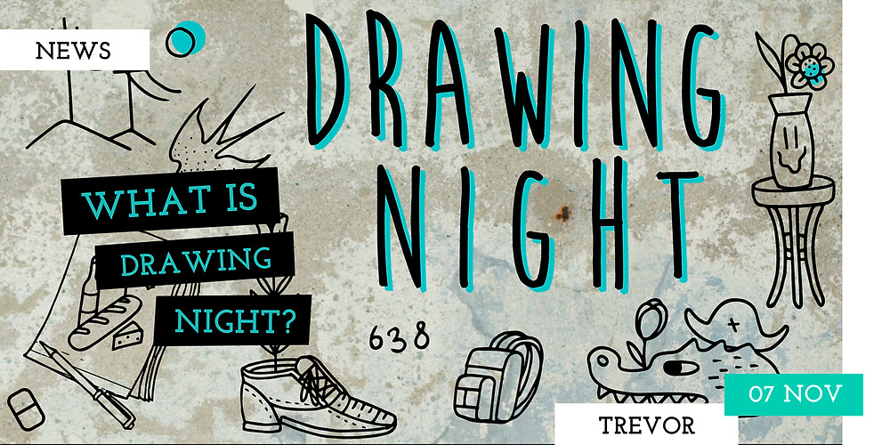 Drawing night in the center of Copenhagen. Organized by two tattoo artists - 22nd of November