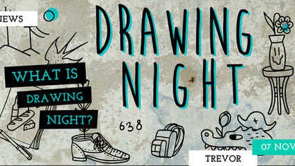 DUDE, WHAT IS DRAWING NIGHT?