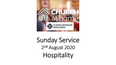 Sunday Service 2nd August 20
