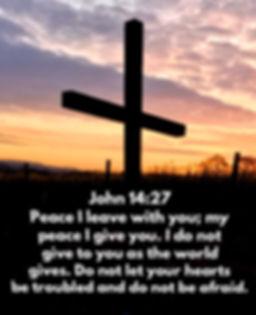 John 14 v27 Peace