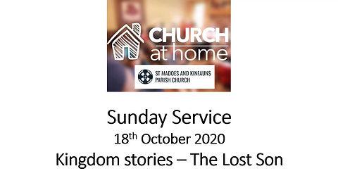 Sunday Service 18th October 20
