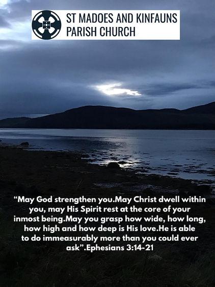Ephesians 3 v14-21