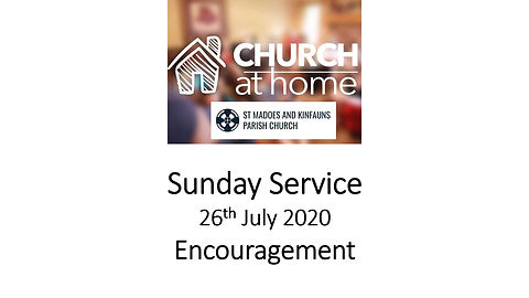 Sunday Service 26th July 20