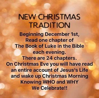 Advent calendar - Luke`s gospel