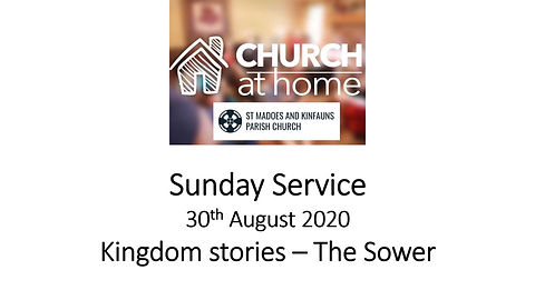 Sunday Service 30th August 20