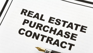 Purchasing property.