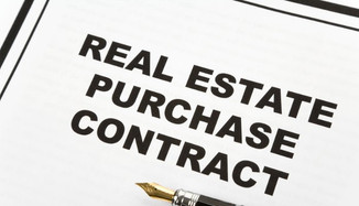 Purchasing property.