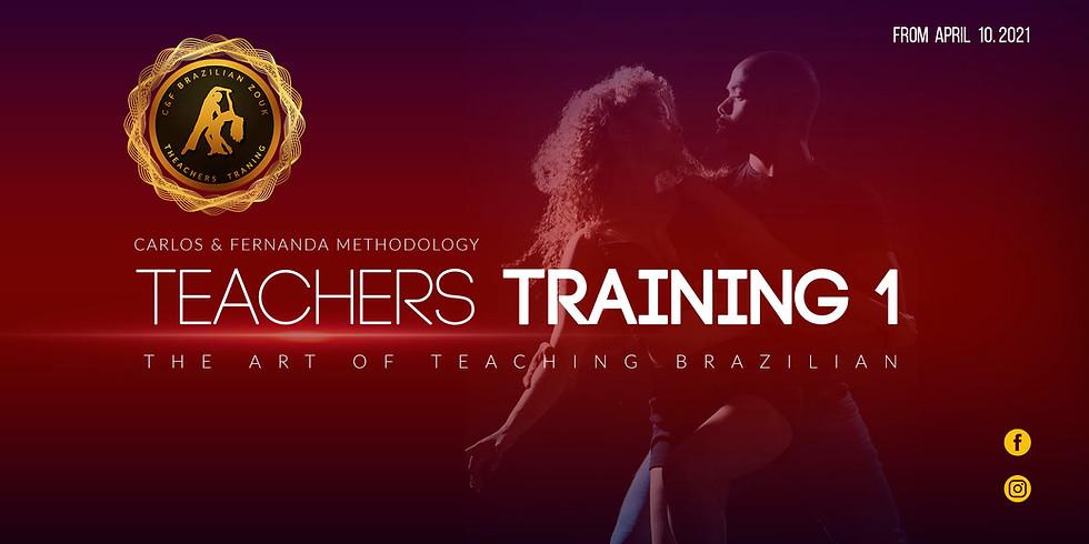 Online Teachers training Course 1 - C&F Brazilian Zouk Methodology