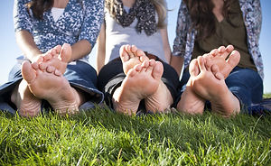 Barefoot Female Feet outdoors.jpg