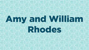 Amy and William Rhodes