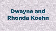 Dwayne and Rhonda Keohn