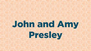John and Amy Presley